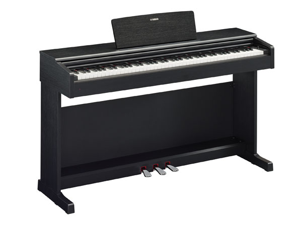 digital piano zur Miete YDP-144 B schwarz matt Arius