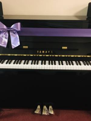 Kauf Klavier neu Yamaha B2 Silent schwarz poliert